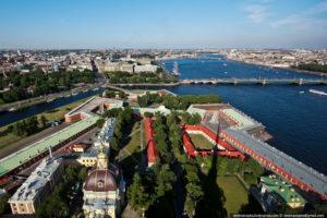 Петропавловский собор смотровая площадка