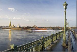 Вид с Троицкого моста